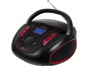 Sencor SRD 230 BRD  - Přenosný digitální FM radiopříjímač s USB/SD/MP3 přehrávačem